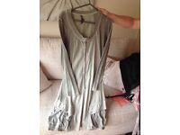 Sage green dress large