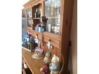 Lovely old pine Welsh dresser