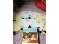 Take me home country roads LP 8 record collection box
