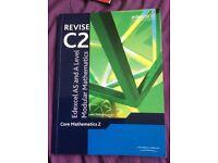 C2 EDEXCEL MATHEMATICS AS LEVEL BOOK - GOOD CONDITION - £2!