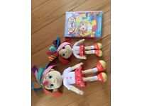 Everything's Rosie -CBeebies -2 dolls and DVD