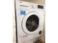 Integrated washer dryer new graded 12 mth gtee