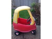 Little Tikes car in reasonable condition - just missing the stickers - free