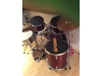 Set of stagg drums