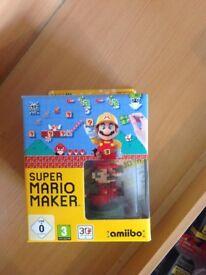 Limited edition super Mario maker Nintendo Wii U