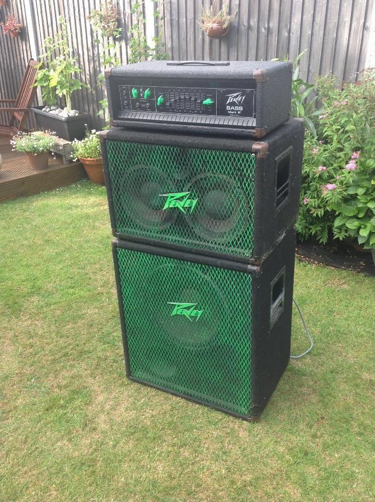 peavey mark iii bass amp head peavey 115 bx bw cab peavey 210 tx cabinet in potters bar. Black Bedroom Furniture Sets. Home Design Ideas