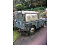 Diesel Land Rover 88'' Historic vehicle