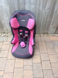 Baby car seat free for collection pink colour.