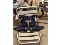 SIDI motorcycle boots like new