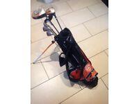 GO Junior WEB golf club set with bag