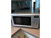 Panasonic silver Microwave Oven