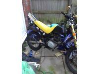 Maxus xdirt 125cc road legal spares or repairs