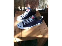 Lee Cooper Navy canvas shoes.
