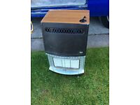 VALOR portable gas fire / heater with gas bottle FREE