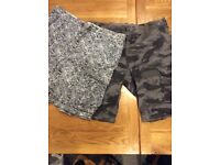 Two pairs of men's shorts size 38