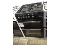 Flavel Milano G60 black gas cooker. £320 new/graded 12 month Gtee