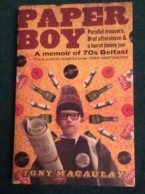 Paper Boy. A Memoir of 70s Belfast
