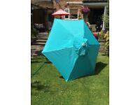 Brand new garden parasol