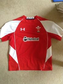 Welsh Rugby Top/Shirt (Large)