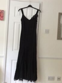 Black Marks and spencer evening dress si ze 16