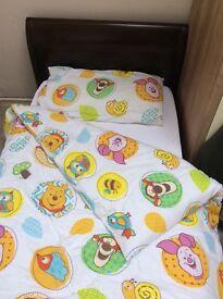 Junior Sleigh Bed with mattress