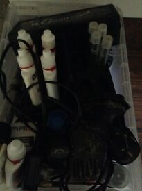 Marine or tropical fish tank plus all accessories needed,ro and salt water containers plus more