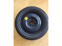 BRAND NEW Continental 125/80 R15 Space Saver Running Spare Wheel Tyre (Unused Road Legal Condition)
