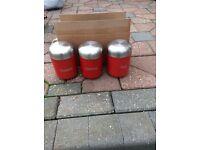 Tea coffee sugar aluminium containers