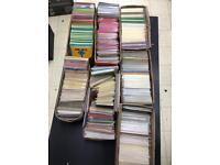 Huge job lot of handmade and design led printed greeting cards