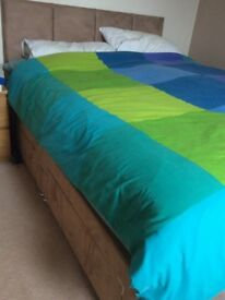 King sized divan base and mattress
