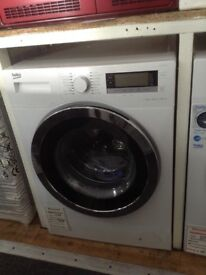 Beko 12kg 1400spin washing machine. A+++ energy rated. White. £400 RRP £516. New/graded 12 month gte