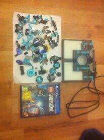 Lego dimension game and portal