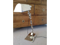 Designer ANDREW MARTIN light - chrome desk table lamp - 58cm - Immaculate