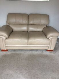 Leather sofa x2 2seaters
