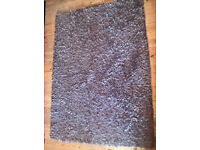 Soft Brown Rug - Excellent Condition