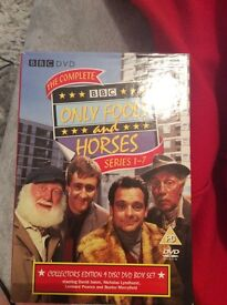 Only fools and horses series 1-7 DVD boxset