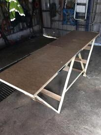Brand new heavy duty paste table