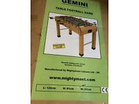 Football Table (brand new still in box)