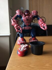 Spidersapien remote control Spiderman
