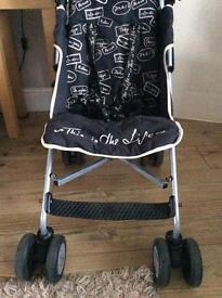 Rare Lulu Guiness Maclaren quest buggy/pushchair