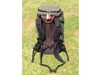 Crux AK37 rucksack, one size, green.