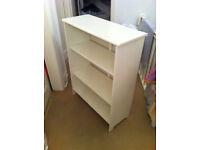 Satin White Ikea Bookcase