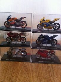Die cast model motorbikes for sale