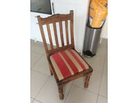 Pair of John Lewis Maharani Sheesham Wooden Dining Chairs