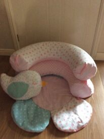 Mothercare Sit me up cosy - Hardly used.