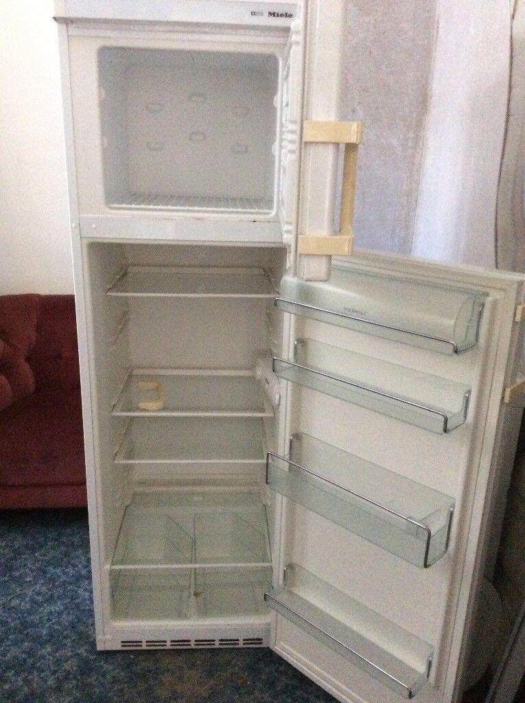 Miele White Fridge Freezer