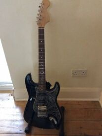 Fender Squier Strat with Seymour duncan Invader humbucker