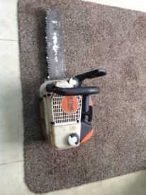 Stihl Chainsaw MS200T Top Handle