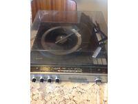 Philips original 4 speed turntable set