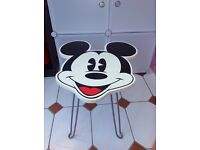 Disney Mickey Mouse fold away wooden table x